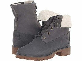 NIB*Timberland Womens Jayne Teddy Fleece Fold down Boot**Dark Grey*Sz 6-10 - $225.00