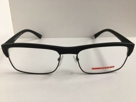 New PRADA VPS 06F VPS06F DG0-1O1 Black 54mm Men's Eyeglasses Frame #1 - $129.99