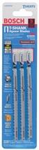 Bosch Tool T345XF3 3 piece 5-1/4 In. 5-10P TPI T-Shank Jig Saw Blades-26... - $10.59