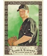 2009 Topps Allen and Ginter Code #8 Matt Cain  - $0.99