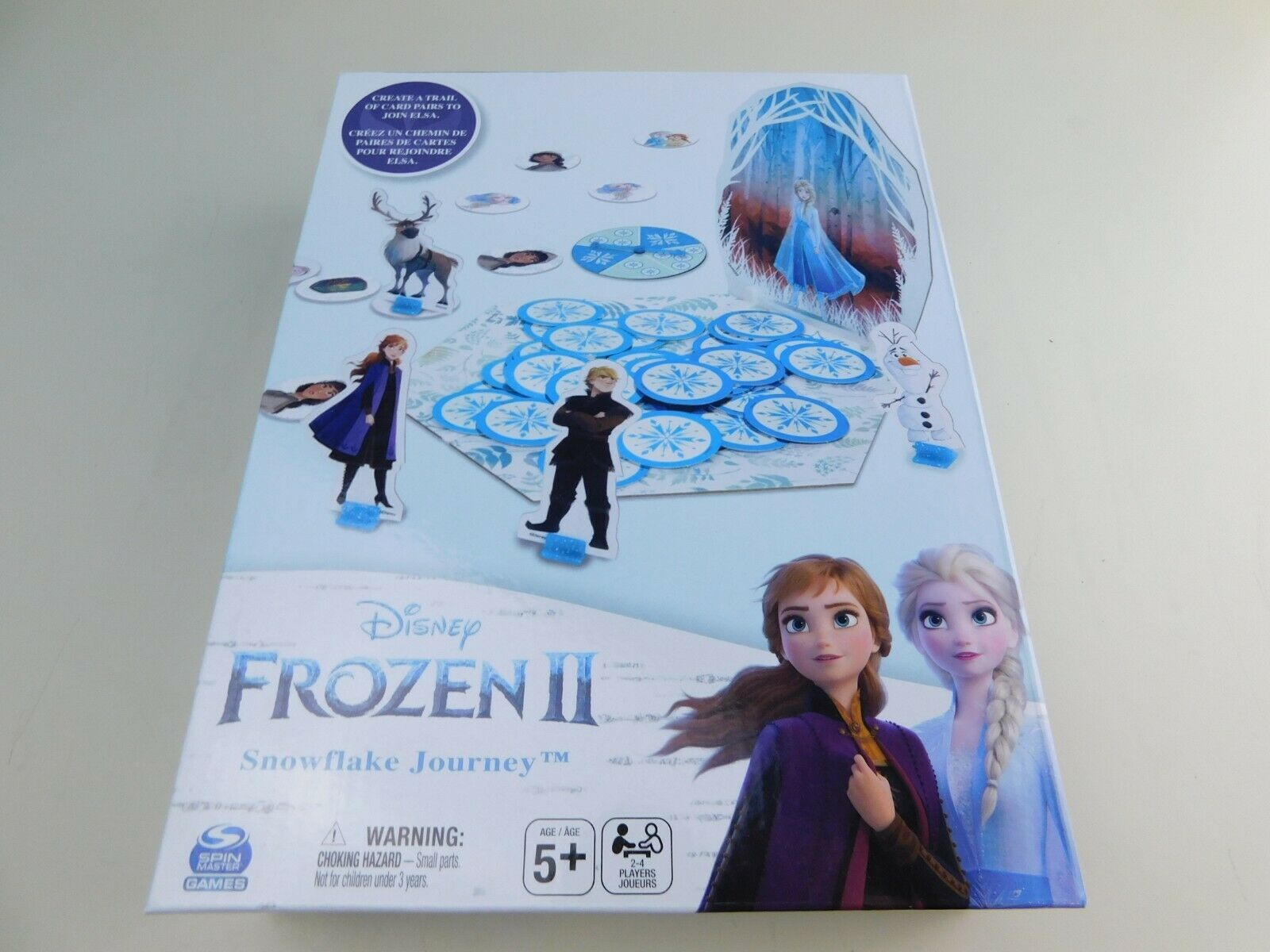 Primary image for Disney FROZEN 2 Snowflake Journey Board Game NEW Sealed Free Shipping ages 5+