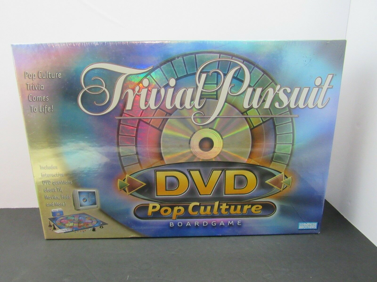 Primary image for Trivial Pursuit Pop Culture Board Game w/ DVD Factory Sealed NIB