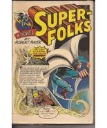 Super-Folks Novel By Robert Mayer Paperback Dial Press Super-Heroes Action - $14.95