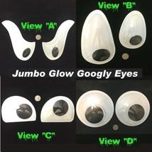 Snowman Wiggle GLOW GIANT GOOGLY EYES Jumbo Craft Gag DIY Prop Decoratio... - $2.94+