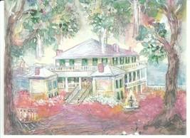 Vintage Greeting Card Daufuskie Island South Carolina Melrose Plantation - $7.91