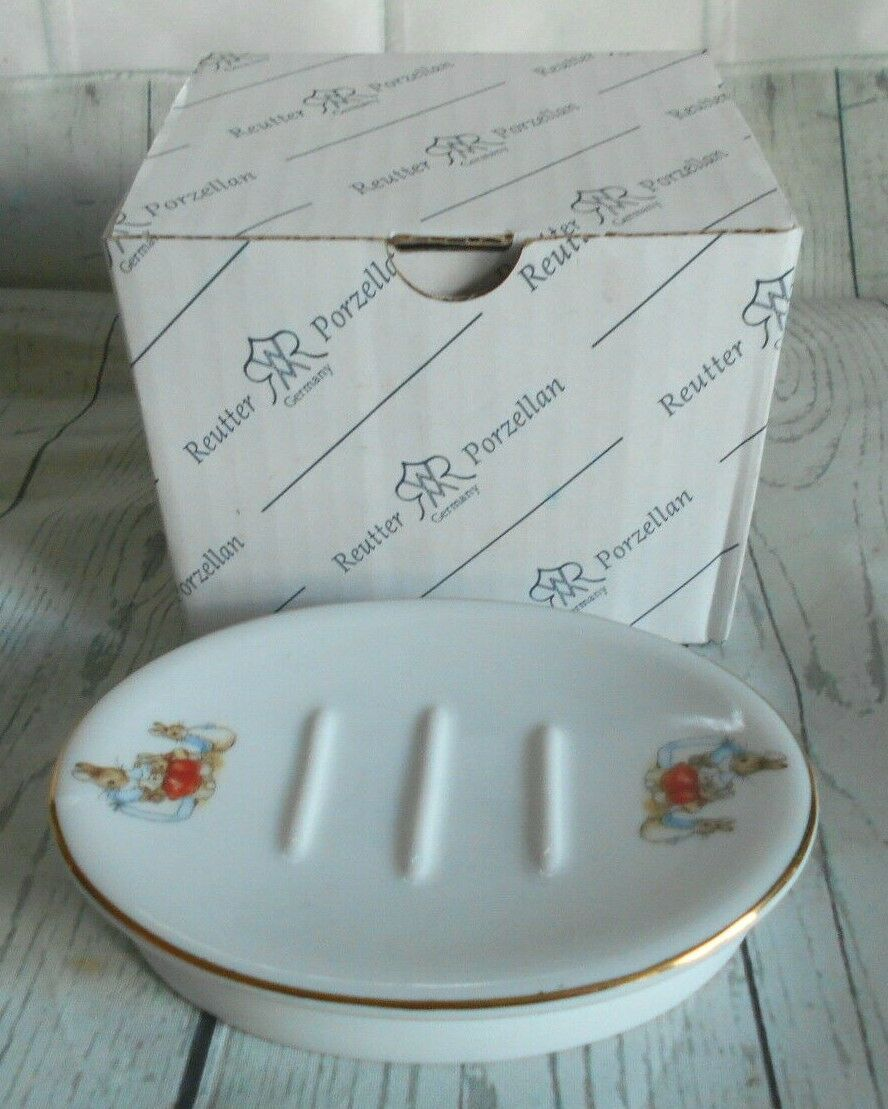 Primary image for M.W. Reutter Porcelain Germany Beatrix Potter Soap Dish