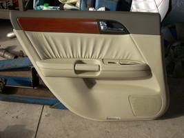 2007 INFINITI M35 LEFT REAR DOOR TRIM PANEL  image 2