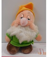 "Walt Disney World Exclusive Snow White Sleep Dwarf 6"" plush toy RARE HTF - $17.54"