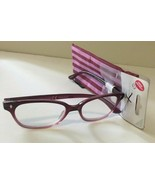 $20 Purple Carmen Sight Station Reading Glasses with soft case (+1.00 to... - $7.00