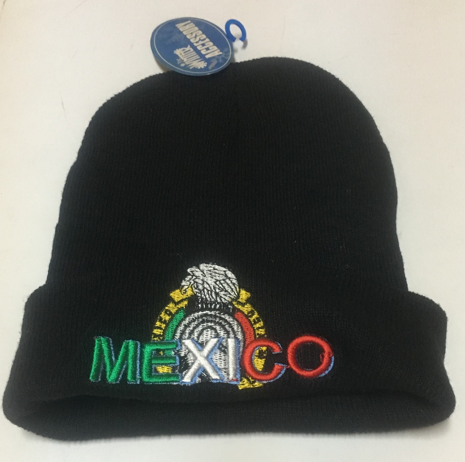 MEXICO Beanie Hat Cap Adult One Size