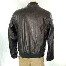 Levis Faux Leather Jacket Sz M EUC image 5