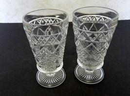 Gothic Big Top Peanut Butter Glass Hazel Atlas Company Two Footed Tea Tu... - $12.75