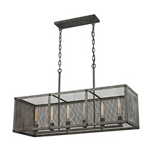 ELK Lighting 31511/6 Close-to-Ceiling-Light-fixtures, 22 x 15 x 40, Rust,22 x 15 - $229.45