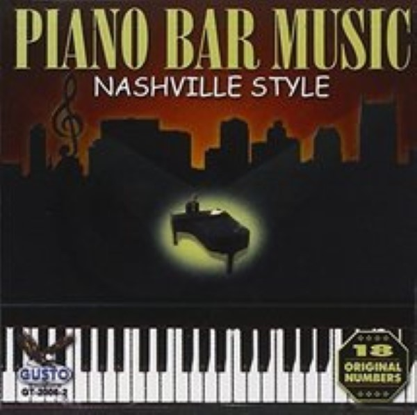 Piano Bar Music: Nashville Style by Piano Bar Music Cd