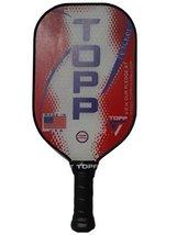 Topp Pickleball Paddle Reacher Composite Blade (Red/Purple) - $85.00