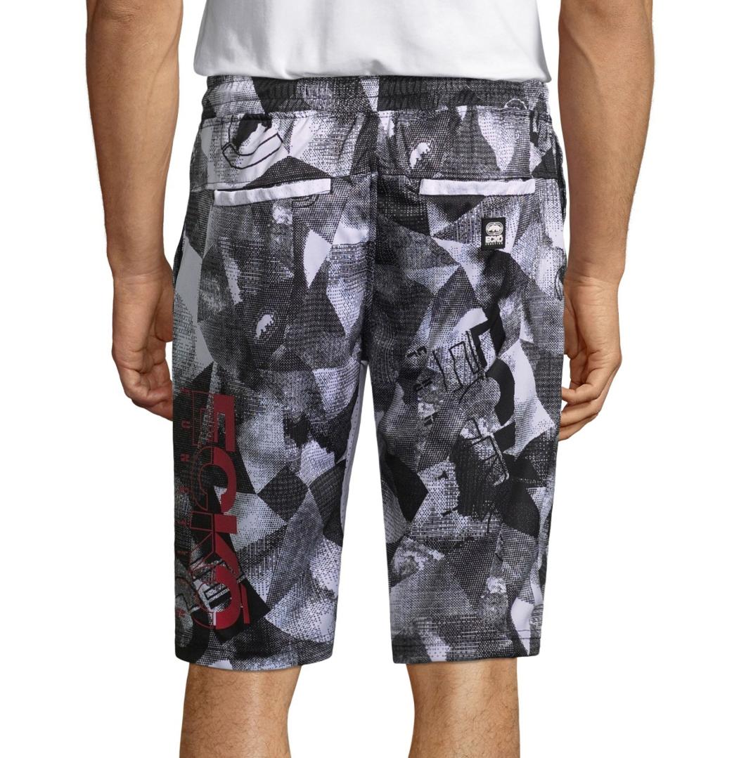 Ecko Unltd Pull-On Shorts Size L New White Multi