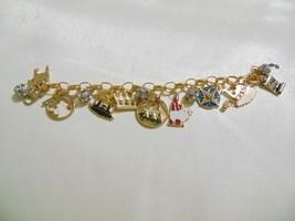 Holiday Lane Gold-Tone Holy Christmas Story Charm Bracelet CHR118B $29 - $13.43