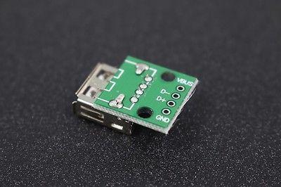 USB-Adapter An Dip 4 Pin Connector pcb-konverter usb-03 Board