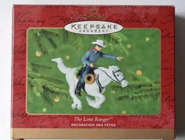 THE LONE RANGER Hallmark Keepsake Ornament 2000 NEW! Horse High Ho Silve... - $14.95