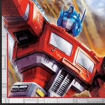 Transformers Lunch Dinner Napkins 16 Count Birthday Party Supplies by Un... - $3.91