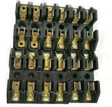 LOT OF 6 COOPER BUSSMANN 2808 FUSE HOLDERS 30A, 600V, 2-POLE image 2