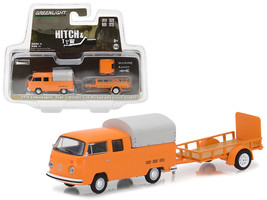 1978 Volkswagen Type 2 Double Cab Orange with Utility Trailer Hitch & To... - $24.40