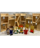 Melissa And Doug Fold & Go Play Castle With Figures and Furniture - $32.73