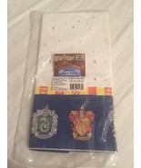 "CLASSIC Hallmark HARRY POTTER SORCERER'S STONE TABLECLOTH COVER 54"" x 89... - $14.49"