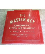 Vintage The Master Key Chromatic Pitch Instrument A-440 - $12.99