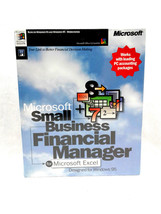 Microsoft 1996 Small Business Financial Manager for Office Windows 95 - $10.00