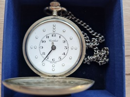Vintage very rare Cortebert Braille Pocket Watch - $1,400.00