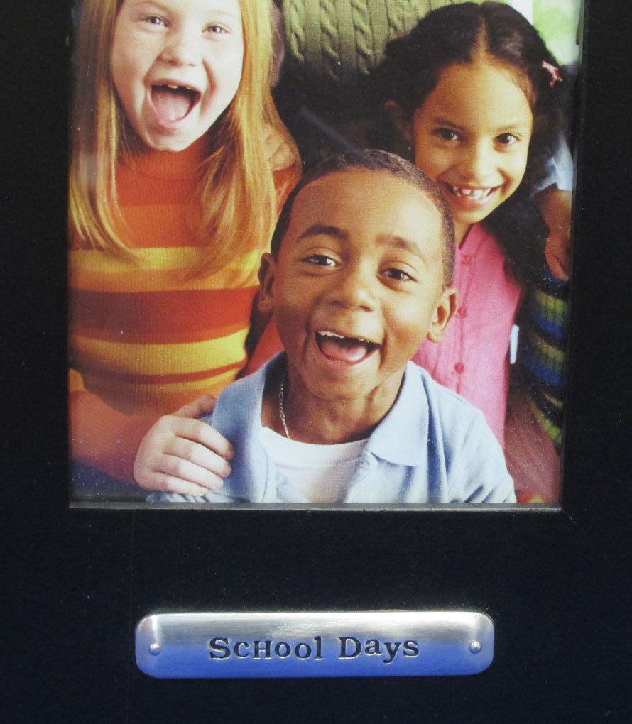 Set 2 Hallmark School Days Picture Phototgraph Photo Frame Black 4 x 6 NOS