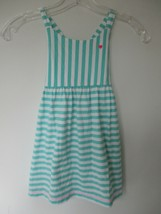 Osh Kosh B'Gosh Girl's Size 4T 100% Cotton Striped Spaghetti Strap Dress - $20.00