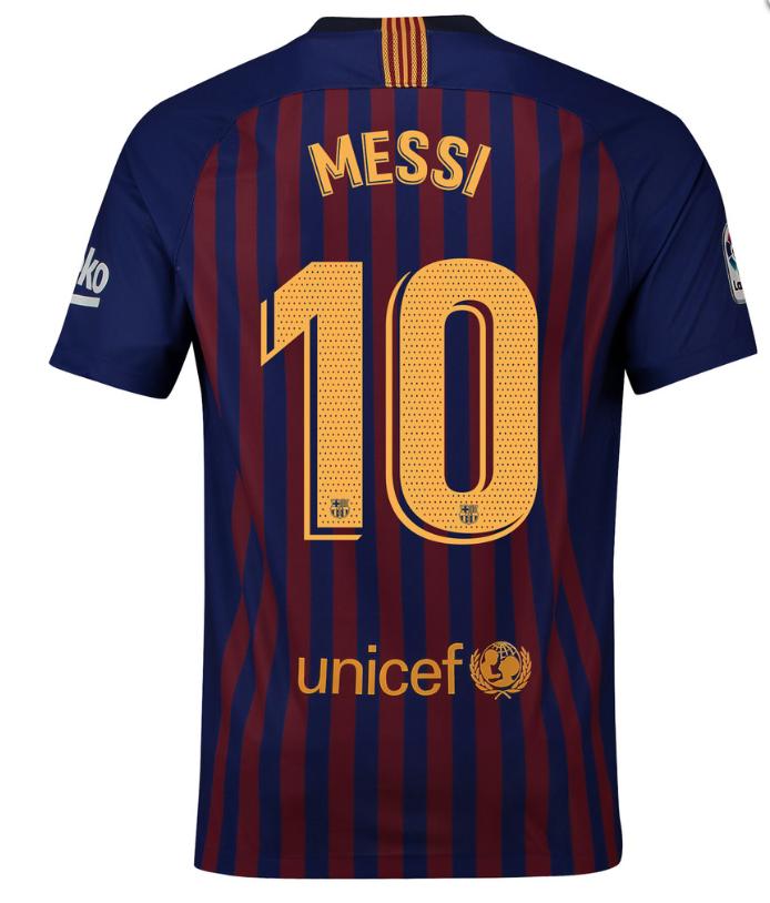 64d1ec4e315 Barcelona Home #10 MESSI 2018-2019 Men Soccer Jersey Football Shirt Stadium