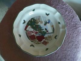 Mikasa salad plate (Santa & Freinds) 1 available - $7.87