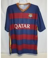 NIKE Youth FCB Qatar Airways 11 Neymar JR Football Soccer Jersey Size L NEW - $15.83