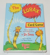 2001 University Games The Lorax Card Game Family Dr Seuss - $9.50