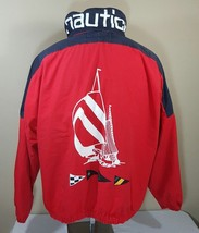 VTG Nautica Jacket Colorblock Sailing 90's Competition J Class Coat Spor... - $125.99