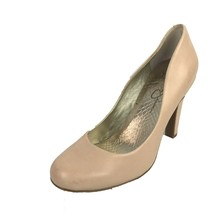 "JESSICA SIMPSON ""Jessica"" Peach Leather Almond Toe Pumps Size 8.5 Med - €22,90 EUR"