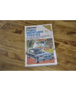 Chilton's Ford Mercury 68-83 Repair Manual - $10.99