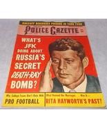 National Police Gazette Tabloid Magazine Novembr 1961 John Kennedy Rita ... - $12.95