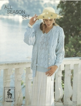 Chatelaine All Season Set Sweater Pattern Leaflet K4723/4 Knit Knitted K... - $3.99
