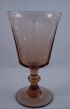 Lenox Antique Rust Wine Glass - $6.88
