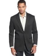 Alfani Men's Suit Jacket Sz LT Black Ice Heather Grey Ponte Big & Tall B... - $68.99