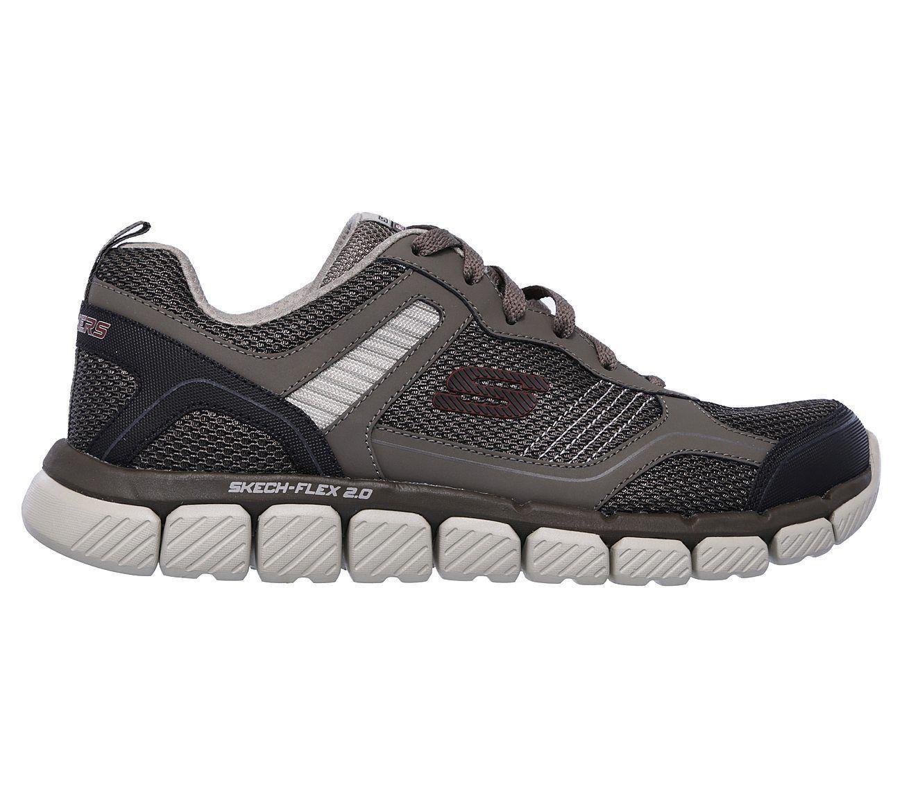 270b789c79623 ... 52842 Brown Skechers shoes Men Memory Foam Comfort Sport Train Mesh  Athletic New ...
