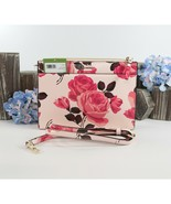 Kate Spade Clarise Pink Sand Leather Cameron Street Roses Crossbody Bag NWT - $172.76