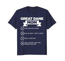 Dog Fashion - Great Dane Mom Checklist Funny Dog Lover Gift T-Shirt Men - $19.95+