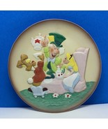 Disney collector plate limited edition embossed magic memories Alice Wonderland - $49.45