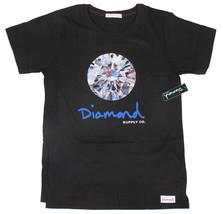 Diamant Supplly Co.Damen Schwarz Brilliant T-Shirt Nwt
