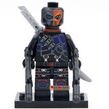 Deathstroke with Weapon Classic Figures Minifigure Marvel Super hero Gift toys - $4.99